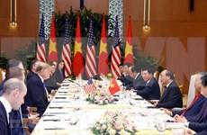 Muestra Trump optimismo sobre resultados de Cumbre EE.UU.-RPDC en Hanoi