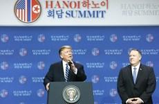 Secretario de Estado norteamericano mostró optimismo a pesar de no lograrse acuerdo con Corea del Norte