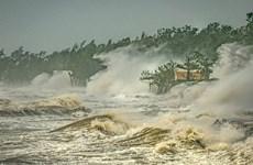 Gana Vietnam primer premio del concurso de fotos sobre el clima en la región de los tifones