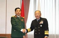 Destacan cooperación Vietnam-Japón en defensa