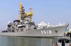 Visitan buques de la Fuerza Marítima de Autodefensa de Japón ciudad vietnamita de Da Nang