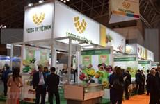 Acaparan productos vietnamitas atención de visitantes en Feria de alimentos  en Japón
