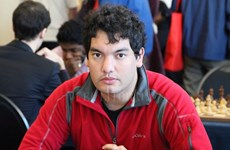 El argentino Mareco Sandro defiende título en torneo de ajedrez en Vietnam