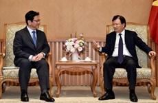 Gobierno de Vietnam crea entorno comercial favorable para inversores japones, afirma vicepremier