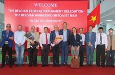 Aspira universidad vietnamita de Can Tho a fomentar cooperación con Bélgica