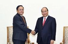 Recibe premier vietnamita al ministro de cooperación internacional de Myanmar