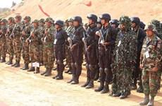 Realizan Camboya y China ensayos de lucha antiterrorista y ayuda humanitaria