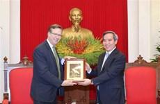 Ratifican papel de comunidad empresarial en desarrollo de relaciones Vietnam-EE.UU.