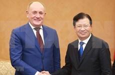Exhorta Vietnam a empresas rusas a ampliar sus inversiones en la nación indochina