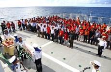 Recuerdan veteranos a combatientes vietnamitas caídos en la isla de Gac Ma