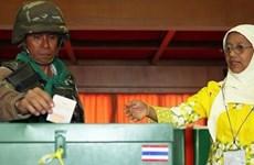 Tailandia organiza votación anticipada en 395 colegios electorales
