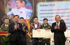 Honran a los diez jóvenes vietnamitas más destacados en 2018