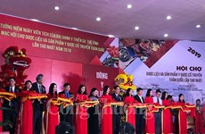 Comenzó la primera Feria de Materiales Farmacéuticos de Vietnam