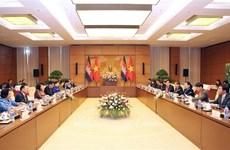 Visita Vietnam delegación parlamentaria camboyana