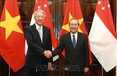 Potencian Vietnam y Singapur asociación estratégica