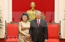 Alto funcionario partidista de Vietnam afirma que su país atesora la amistad con Camboya