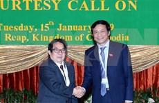 Vietnam y Camboya intensifican cooperación legislativa