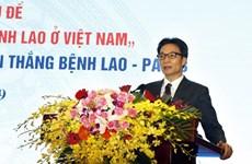 Vicepremier vietnamita urge un mayor esfuerzo para poner fin a la tuberculosis para 2030