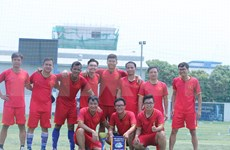 Vietnam gana campeonato de amistad Mekong-Lancang de fútsal 2019