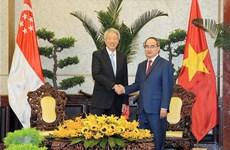 Desea Ciudad Ho Chi Minh colaborar con Singapur en construcción de urbe inteligente