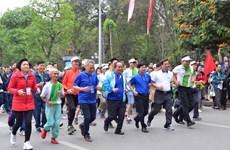 Celebran en Vietnam Día del Maratón Olímpico por la Salud Pública 2019