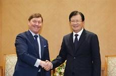 Vicepremier vietnamita recibe al director general de la compañía australiana Macquarie Capital