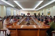 Ex soldados voluntarios y expertos vietnamitas visitan Camboya