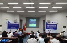 Intercambian expertos vietnamitas y europeos sobre estrategias de transferencia de tecnologías