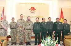 Cooperan Vietnam y Reino Unido para despliegue de hospital de campaña en Sudán del Sur