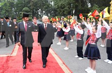 Inicia Sultán  de Brunei visita estatal a Vietnam