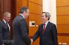 Fomenta Partido Comunista de Vietnam relaciones con fuerzas políticas de Alemania