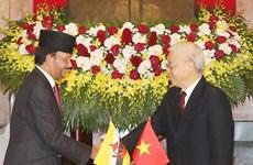 Concluye Sultán de Brunei visita estatal a Vietnam