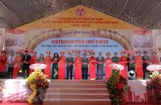 Abre sus puertas mayor exposición de construcción de Vietnam