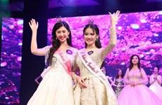 Eligen en Vietnam a Embajadoras de Buena Voluntad de la Flor de Sakura