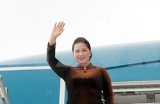 Presidenta del Parlamento vietnamita concluye visita oficial a Marruecos