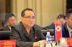 Corea del Norte y Laos intensifican cooperación