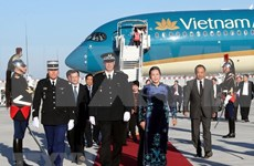 Inicia presidenta parlamentaria de Vietnam visita oficial a Francia