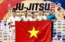 Vietnam obtuvo medalla de oro en campeonato Jiu-jitsu en Tailandia