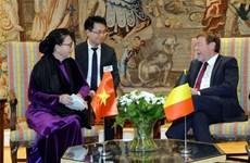 Vietnam considera a Bélgica como un socio importante en Europa, afirma máxima legisladora vietnamita