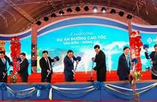 Inician en Vietnam construcción de la autopista Van Don-Mong Cai