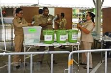 Celebrarán en algunas áreas de Tailandia  elecciones parciales y recuentos de votos