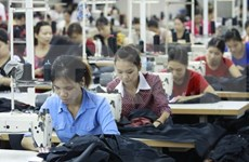 Ingresa Industria textil de Vietnam 8,7 mil millones de dólares en primer trimestre de 2019