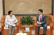 Vicepremier vietnamita destaca relaciones entre su país y OIEA