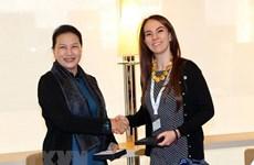 Presidenta de la Asamblea Nacional de Vietnam viaja a Qatar para Asamblea de UIP