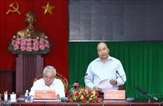 Premier vietnamita exhorta fuerte reestructuración económica en provincia sureña de Soc Trang