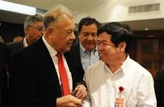 Participa delegación partidista vietnamita en foro político internacional en México
