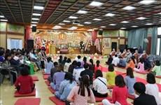Efectúa comunidad budista vietnamita en Corea del Sur réquiem por la paz