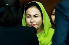 Acusan en Malasia de corrupción a esposa del ex premier Najib Razak