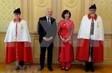Presidente suizo valora nexos con Vietnam