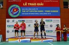 Cerca de 300 badmintonistas extranjeros participan en torneo internacional en Vietnam